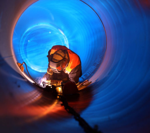 26148750 - pipe welding on the pipeline construction